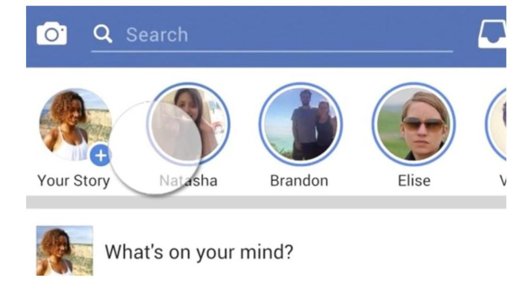 Facebook Stories (Quelle: Facebook)