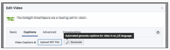 Automatische Untertitel generieren.